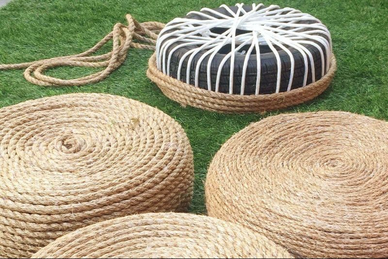 rope tyre
